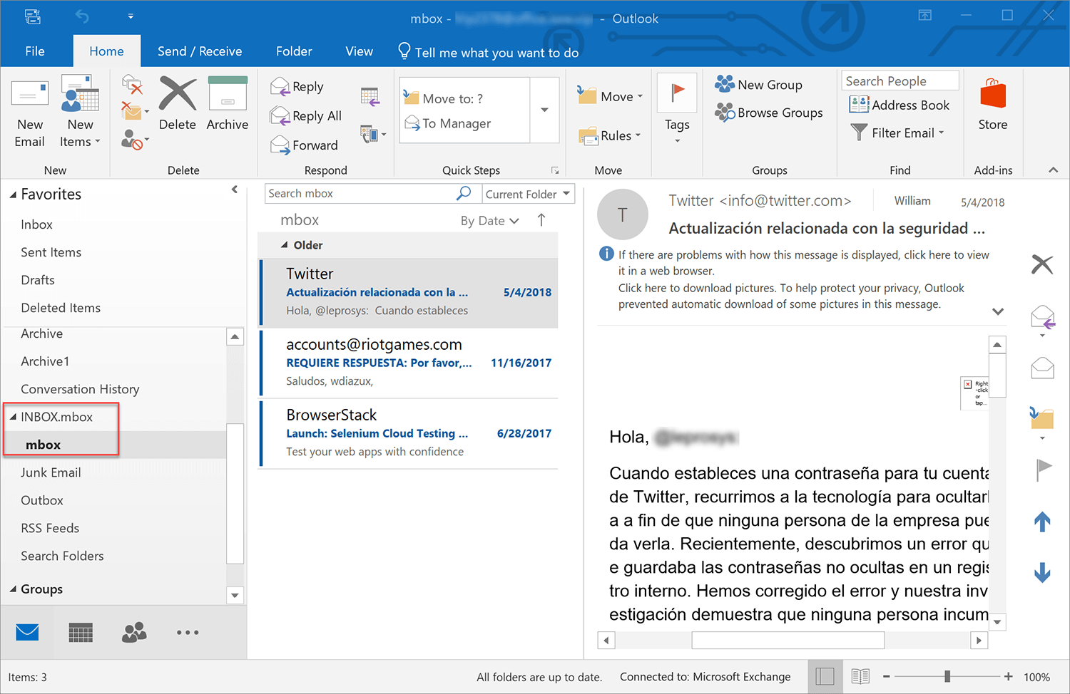 outlook-emails-imported
