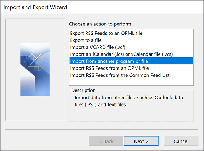outlook-import-from-another-file