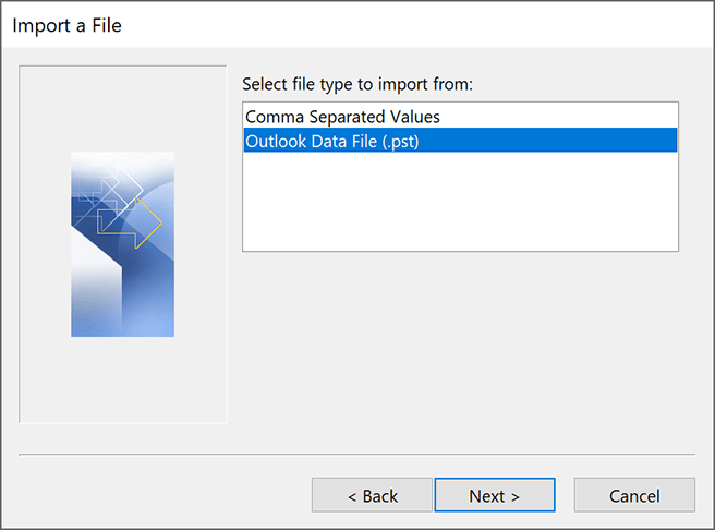 outlook-import-pst