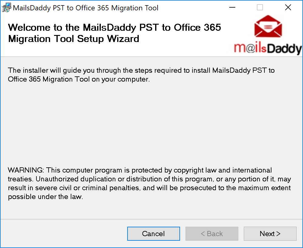 mailsdaddy-pst-installation