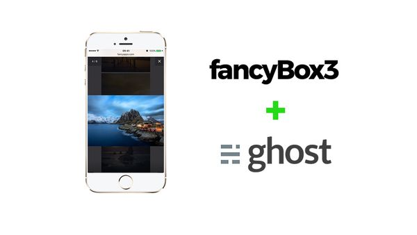 How to integrate FancyBox 3 on Ghost