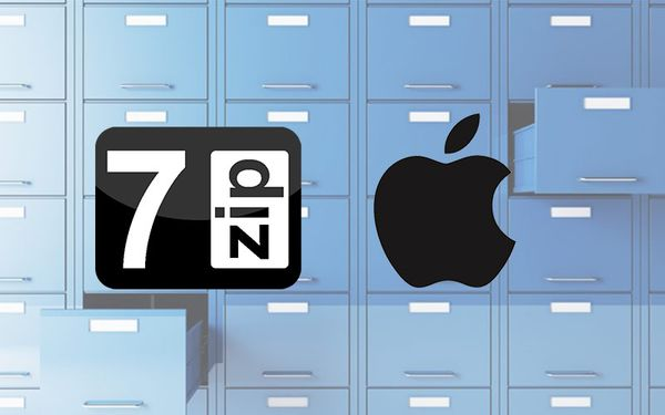 Working with 7zip on Mac